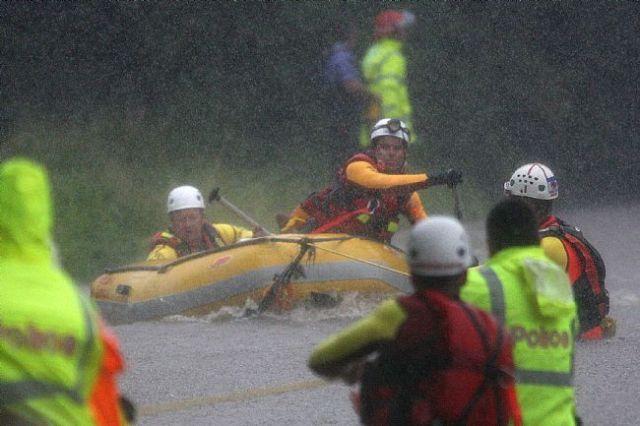 Pullen Creek rescue