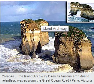Archway falls