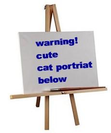 cat portrait icon