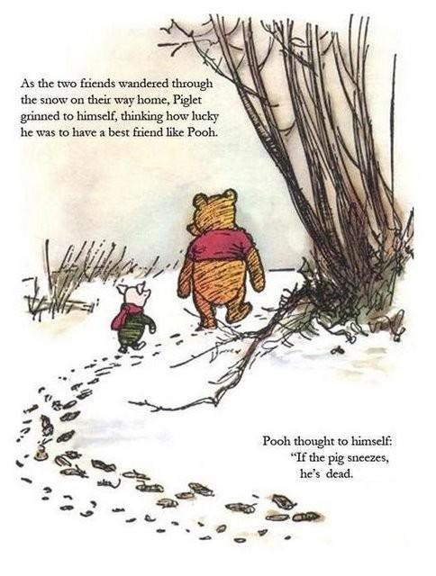 Pooh & Piglet & swine flu