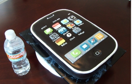 funnyphotos net au phone cake