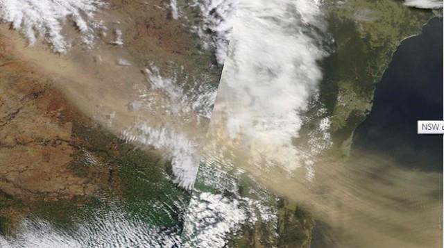 NASA storm image