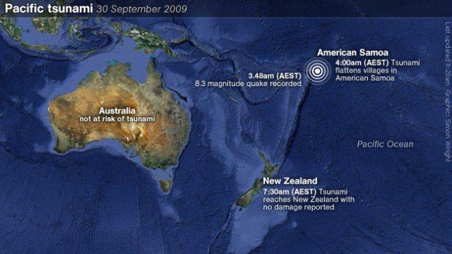 Pacific tsunami sept 09
