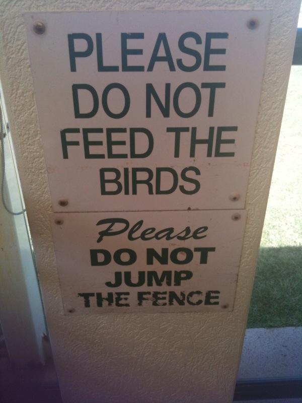 sign at BNLSC
