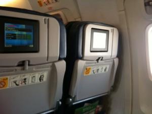 TVs on theplane